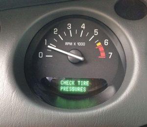 Check Tire Pressure Light