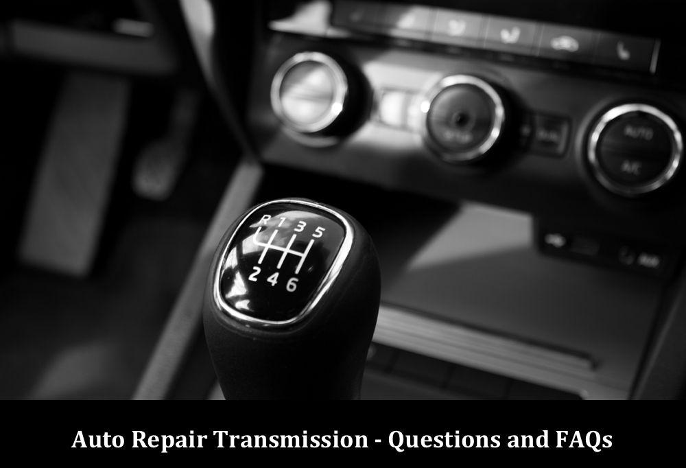 6 speed Transmission FAQs
