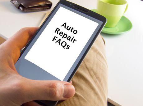 FAQs Auto Repair Questions
