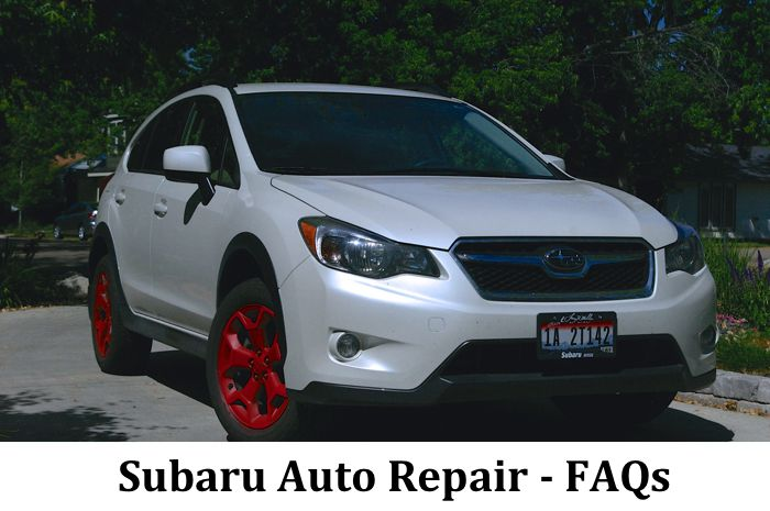 Subaru Auto Repair FAQs