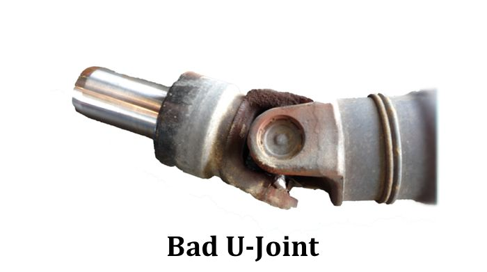Bad Driveshaft U-Joint