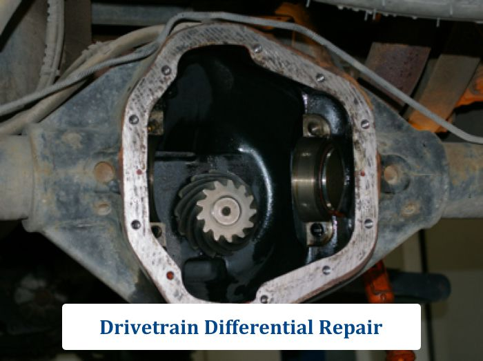 Drivetrain Differential Repair