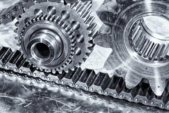 Transfer Case Chain Gears Bearings