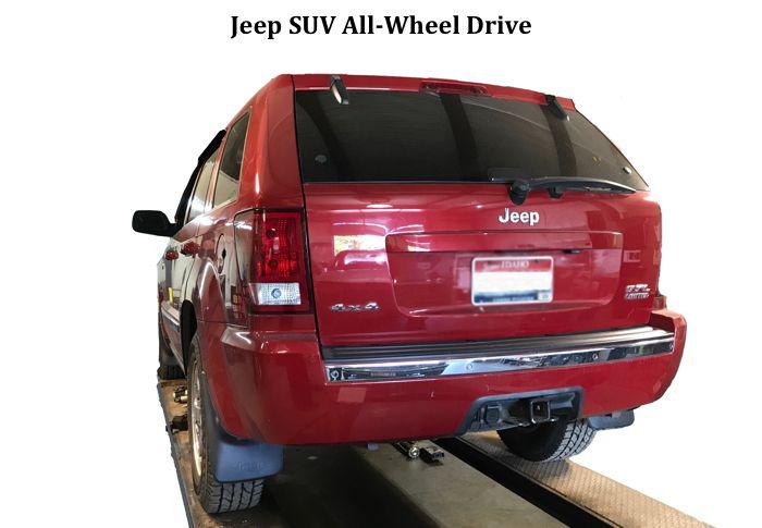 Jeep SUV All-wheel Drive