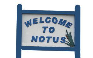 Notus Idaho sign