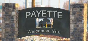 Payette Idaho sign
